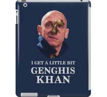I Get A little Bit Genghis Khan iPad Case/Skin