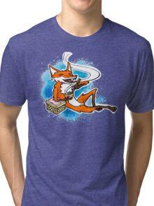 kitsune's dinner Tri-blend T-Shirt