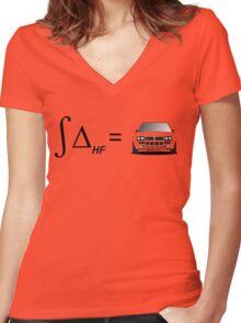 Integral of Delta HF Women's Fitted V-Neck T-Shirt