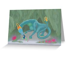 Acor'theo- Waterlands Dragon Greeting Card