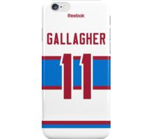 Montreal Canadiens Brendan Gallagher 2016 Winter Classic Jersey Back Phone Case iPhone Case/Skin