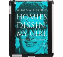 SONG LYRICS : BUDDY HOLLY  iPad Case/Skin