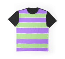 Ripped striped paper pattern Graphic T-Shirt