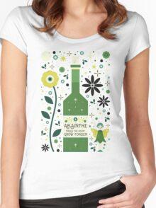 Absinthe  Women's Fitted Scoop T-Shirt