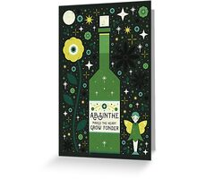 Absinthe  Greeting Card