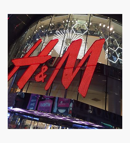 H&M New York Times Square Photographic Print