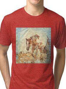 Art Studio 12216 Horse Tri-blend T-Shirt