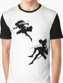 Attack on Titan siluet Graphic T-Shirt