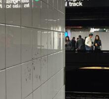 Subway Station New York City Sticker