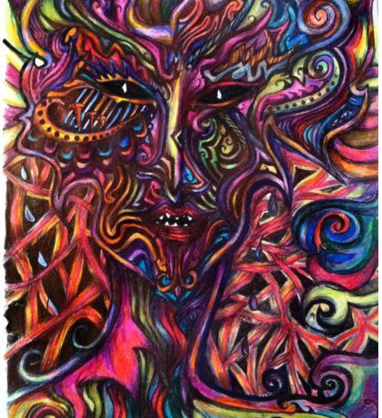 Xola the Rainbow Daemon Sticker