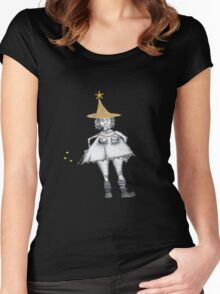 witchy witch Women's Fitted Scoop T-Shirt