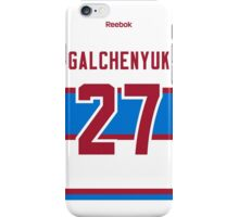 Montreal Canadiens Alex Galchenyuk 2016 Winter Classic Jersey Back Phone Case iPhone Case/Skin