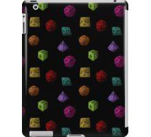 Colourful Polyhedron Dice iPad Case/Skin