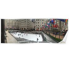 Rockefeller Center Ice Rink Poster