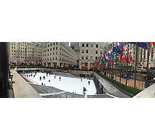 Rockefeller Center Ice Rink Photographic Print
