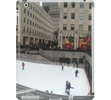 Rockefeller Center Ice Rink iPad Case/Skin