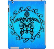 Black Tribal Turtle iPad Case/Skin