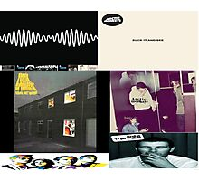 arctic monkeys album covers Photographic Print