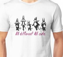 All Different All Cute -Batcat Unisex T-Shirt
