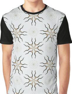 Kudu - Organic Animal Skull Repeat Pattern Series Graphic T-Shirt