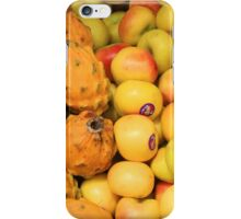 Apples and Yellow Pitahaya iPhone Case/Skin