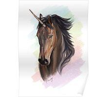Sassy Bay Unicorn (Rainbows & Sparkles included!) Poster