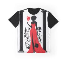 Graphic silhouette of a woman. Isabelle series Graphic T-Shirt
