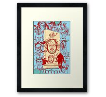 The Many Faces of Kubrick Framed Print