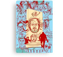 The Many Faces of Kubrick Canvas Print