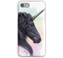 Sassy Dark Unicorn (Rainbows & Sparkles included!) iPhone Case/Skin