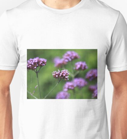 The flowers in the walled garden. Unisex T-Shirt