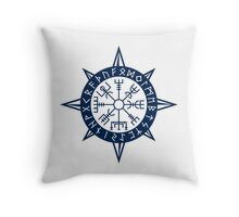 Vegvisir Viking Compass Throw Pillow