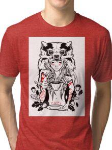 Native English Girl Tri-blend T-Shirt