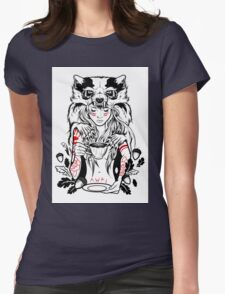 Native English Girl Womens Fitted T-Shirt