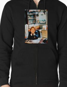 DANA SCULLY x files Zipped Hoodie