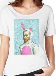 Van Gogh bunny costume Women's Relaxed Fit T-Shirt