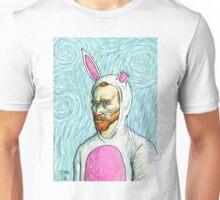 Van Gogh bunny costume Unisex T-Shirt