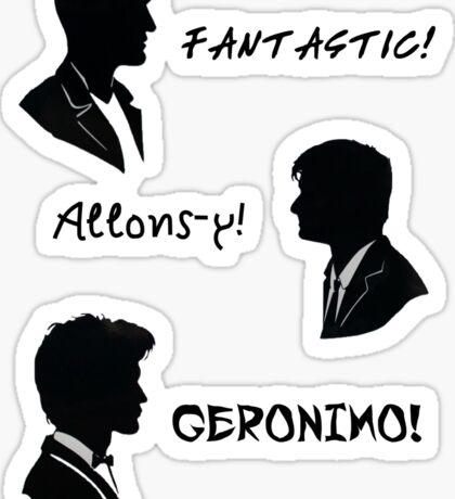 The three doctors Sticker