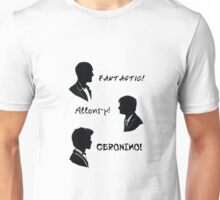 The three doctors Unisex T-Shirt