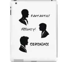 The three doctors iPad Case/Skin