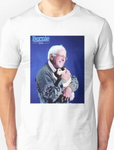 Bernie and his Cat Funny T-Shirt