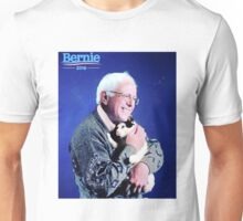 Bernie and his Cat Funny Unisex T-Shirt