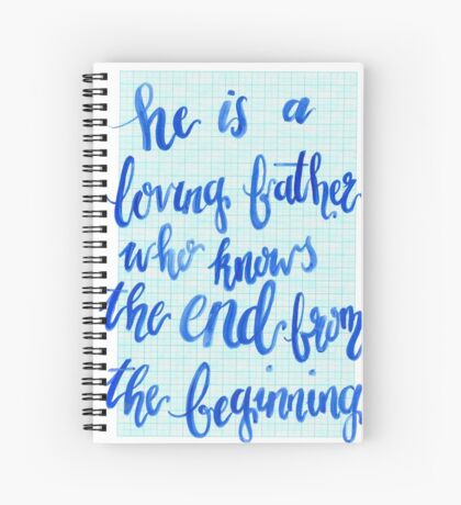 Loving Father Spiral Notebook
