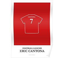 Eric Cantona - Football Legend Poster