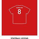 Steven Gerrard - Football Legend by springwoodbooks