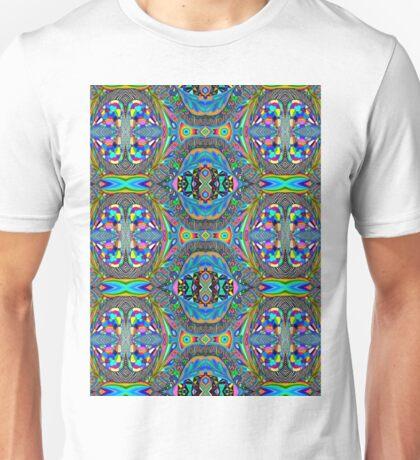 Blue Symmetry Unisex T-Shirt