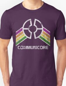 Communicore Logo in Vintage Distressed Style Unisex T-Shirt