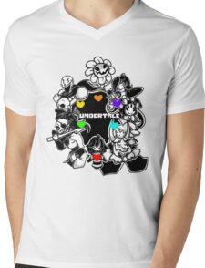 Undertale Funny Mens V-Neck T-Shirt