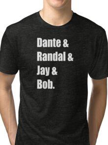 Clerks Cast Tri-blend T-Shirt