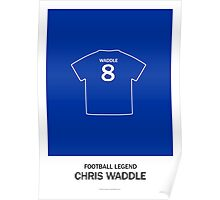 Chris Waddle - Football Legend Poster